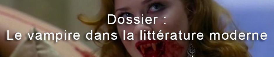 Le vampire dans la littérature moderne