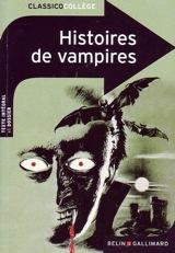 Collectif, dirigé par Stéphane Chomienne. Histoires de vampires