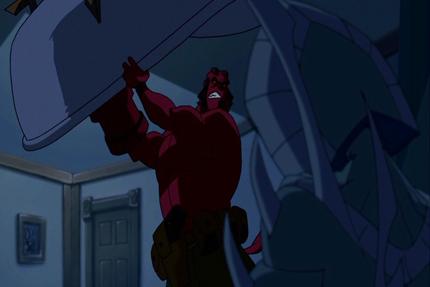 Cook, Victor. Hellboy : de sang et de fer. 2007