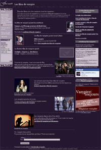 Delphine. Interview de la webmastrice de Films-Vampires.com