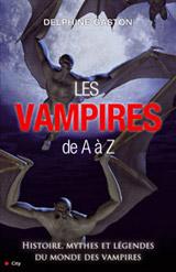 Gaston, Delphine. Les vampires de A à Z