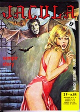 Ventura, Rubino – Giolitti, Alberto. Jacula, tome 64. Vampir Story