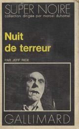 Rice, Jeff. Nuit de terreur