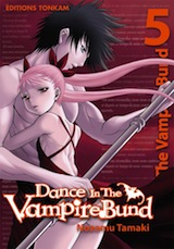 Tamaki, Nozomu. Dance in the vampire Bund, tome 5