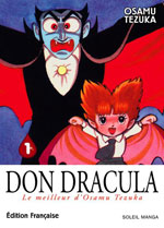 Tezuka, Osamu. Don Dracula. Tome 1