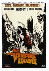 Ward Baker, Roy. The vampire lovers. 1970