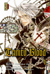 Yoshida, Sunao – Kyujyo, Kiyo. Trinity Blood. Tome 1