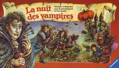 A. Randolph - W. Obert - D. De Toffoli. La nuit des vampires