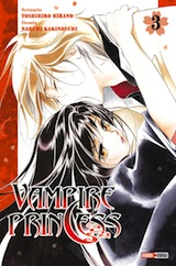 Hirano, Toshihiro- Kakinouchi, Narumi. Vampire Princess, tome 3