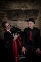 Sanahujas, Simon – Dubourthoumieu, Gwenn. Interview avec les auteurs d'À la poursuite de Dracula