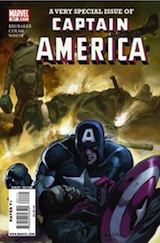 Brubaker, Ed – Colan, Gene. A very special issue of Captain America
