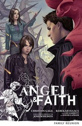 Gage, Christos – Isaacs, Rebekah. Angel & Faith, tome 3. Family Reunion
