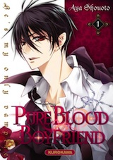 Shouoto, Aya. Pure Blood Boyfriend, tome 1