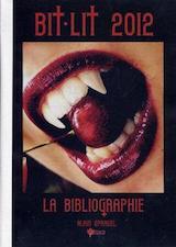 Sprauel, Alain. Bit-lit 2012 : la bibliographie