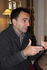 De Santis, Pablo. Interview avec l'auteur de La Soif primordiale