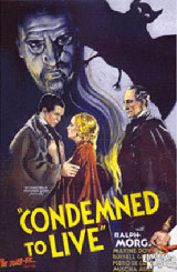 Strayer, Frank R. Condemned to Live. 1935
