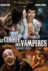 Young, Robert. Le Cirque des vampires. 1972