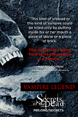Thomas-Couth, Kate. Secrets of the Dead : Vampire Legend. 2015