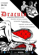 La compagnie 34-14 porte Dracula… sur les planches !