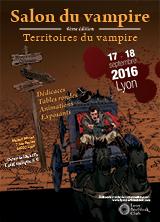Le Salon du Vampire 2016 : territoires du vampire - (30/08/2016)