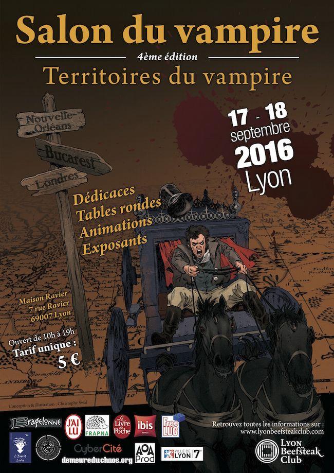 Le Salon du Vampire 2016 : territoires du vampire