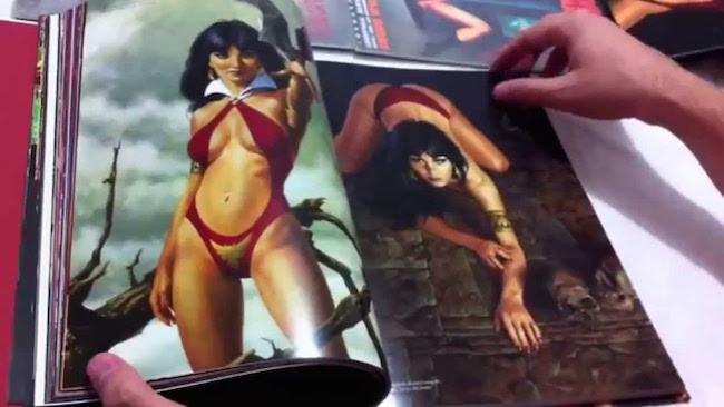 Guerrero, José. El arte de Vampirella. 2015