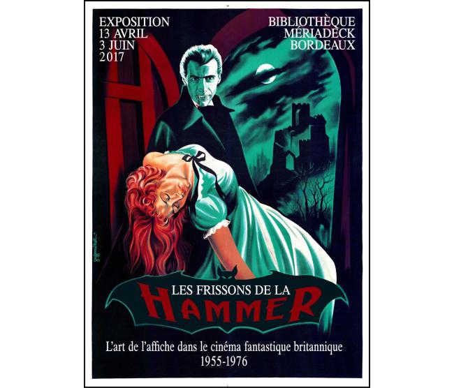 Exposition Hammer - Bibliothèque de Bordeaux Mériadeck, 13/04 au 03/06/2017