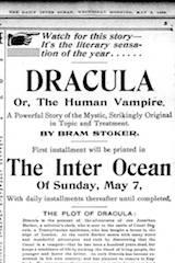 (Re-)Découverte d'une ancienne sérialisation américaine de Dracula - (27/04/2017)