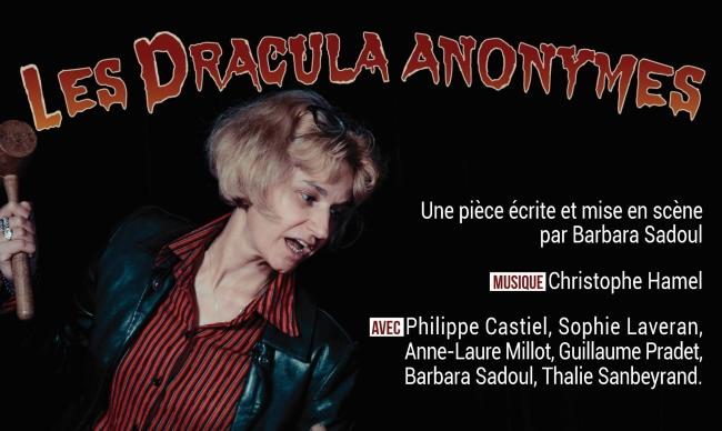 Les Dracula Anonymes de Barbara Sadoul au théâtre le 31/10/2017