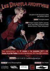 Les Dracula Anonymes de Barbara Sadoul au théâtre le 31/10/2017 - (25/10/2017)