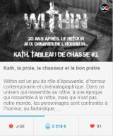 Campagne de crowdfunding pour un scénario de Within (JDR) - (09/05/2018)