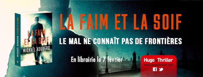 Koudero, Mickaël. Interview avec l'auteur de La Faim et la Soif